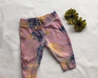Hippie Baby Earth Dye Newborn Pants - NB