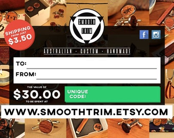 SmoothTrim Gift Certificate/Voucher - Digital/Physical