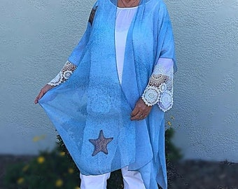 Starfish Sheer Wrap