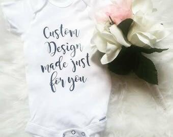 Customized Baby Onesie
