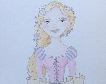 Rapunzel original - Tangled original - Once Upon A Time collection