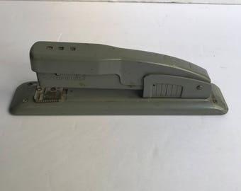 1960s Vintage Swingline Industrial Grey Stapler