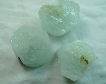 3 Pieces Natural Aquamarine Crystals