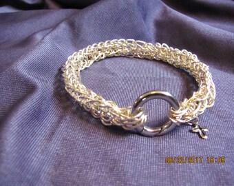 Viking Knit Fine Silver
