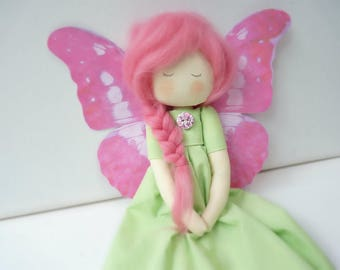 Butterfly decoration romantic fairy cloth doll, Tess