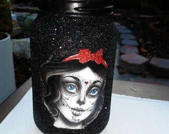 Snow white day of the dead