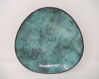 Large Plate, Ziegler Ceramic, Free Shipping!