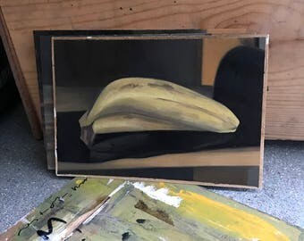 Still life study, banana.