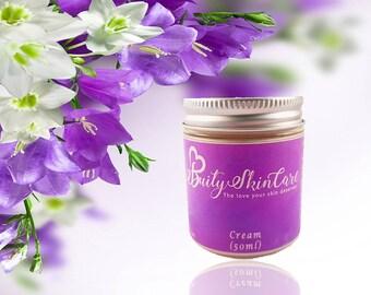 Cream / Moisturiser / Rich and Gentle for Dry / Aging / Eczema / Damaged Skin 50ml