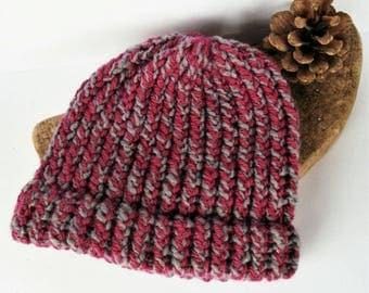 Pink baby beanie, toddler hat, girl baby beanie, baby beanie, baby gifts, baby girl hat, baby boy hat, knitted baby hat, knitted hat, knit