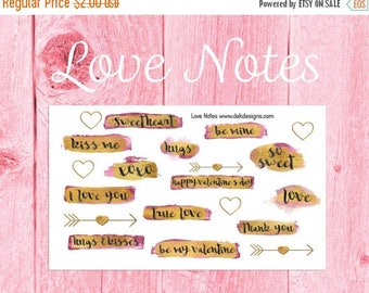 40% Off Sale Love Notes