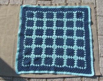 baby blanket crocheted pram or stroller