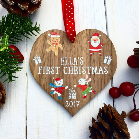 First christmas gifts for a baby girl cute ideas for Baby s first christmas decoration