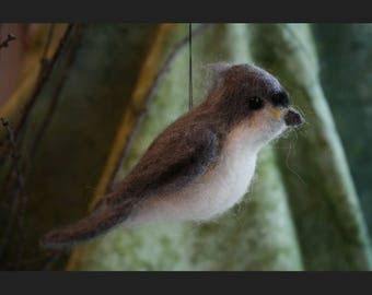 Felted Tufted Titmouse