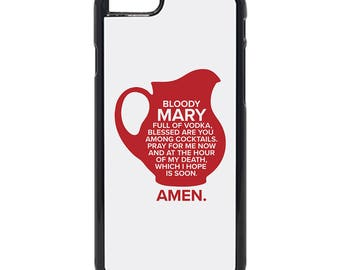 Sterling Archer Inspired Bloody Mary Speech iPhone ( 8 / 7+ / 7 / 6+ / 6S / 6 ) Case