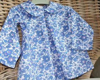Blouse / liberty blue Blouse size 2 years