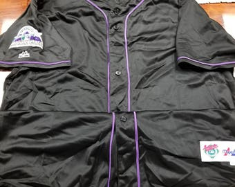 Mlb all star game jersey size 52 2xl, American league national league, Colorado Rockies,  90s jersey