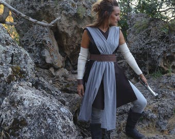 Rey Jedi Training Costume- The Last Jedi