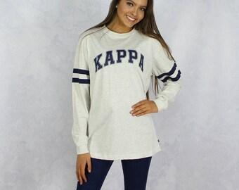 Kappa Kappa Gamma Long Sleeve Jersey T-Shirt