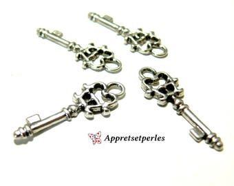 Finish: 40 charms antique silver ref P816Y key