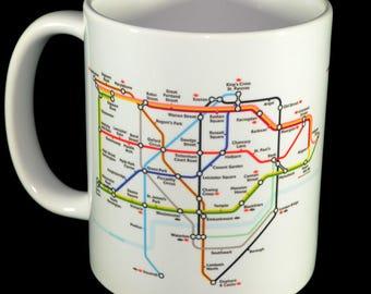 Mug - Tube Map of London Mug