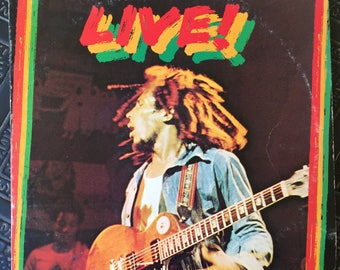 Bob Marley and the Wailers Live Vintage Vinyl LP