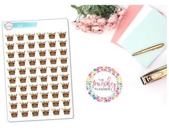 Picnic Basket Icon Planner Stickers