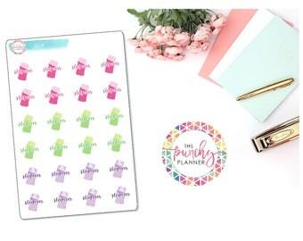 Sleepover Planner Stickers