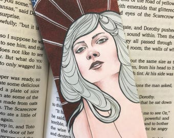 Victorian / Art Nuveau Bookmark - Literary Bookmark - Gift Idea