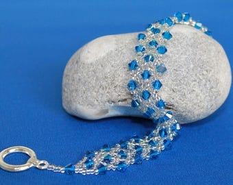 Bracelet with Swarovski crystals - Capri AB