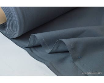 Fabric cotton half mat wide anthracite grey