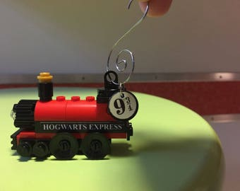 Custom Lego Harry Potter ornament - Hogwarts Express