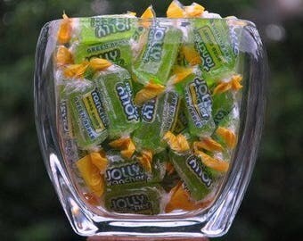 One pound of Green Apple Jolly Ranchers