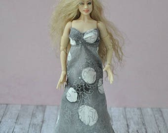 Handmade dress for 1/12 scale Zjakazumi dolls,Heidi Ott dolls
