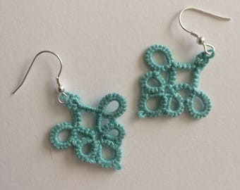Tatted Earrings - the Elyse