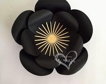 Paper flower center Style 4