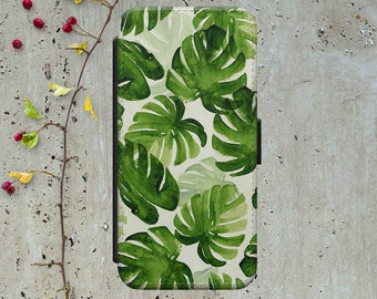 Palm Leaf Iphone 6 Wallet Case Leather Iphone 6 Case Leather Iphone 6 Flip Case Iphone 6 Leather Wallet Case Iphone 6 Leather Cover