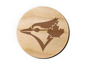 Toronto Blue Jays Engraved Birch Coasters