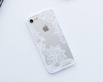 White Lace iPhone Case iPhone 8 Case iPhone 8 Plus Case iPhone 7 Case iPhone 7 Plus Case iPhone 6s Case iPhone 6s Plus Case iPhone 6 Case