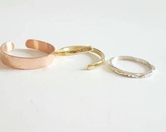 Rings TRIO three colors