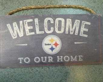 Steelers Welcome Sign