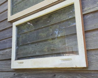 31x20 old window sash 1 pane one pane picture frame double pane