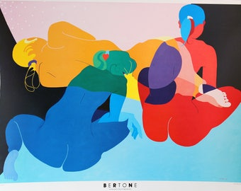THREE MUSES -Litho Poster