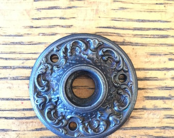 Decorative Cast Iron Rosette 2 1/4""