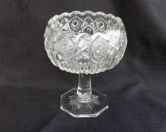 EAPG QUINTEC McKee Glass Introduced in 1910 Jelly