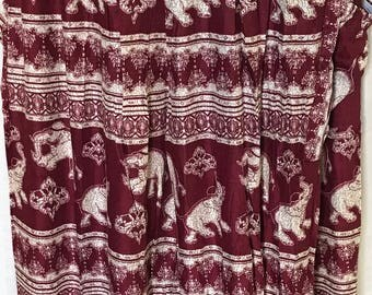 Pant with Elephant design