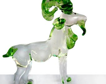 Fabulous glass figurine - Capricorn