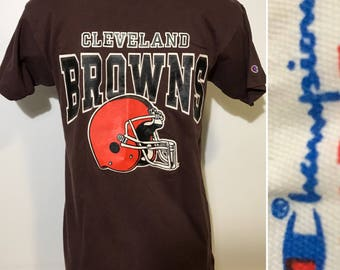 Vintage Cleveland Browns Tee by Champion M