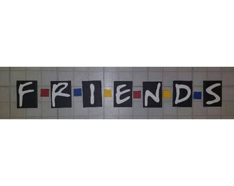 FRIENDS TV Show Logo Canvas Painting