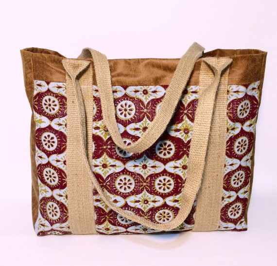 Market bag, XL tote bag , cotton bags , eco-friendly bag, suede  bags , handmade bags